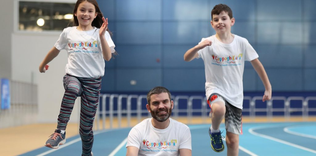 Former Boxer Bernard Dunne Leads 'Walk a Mile for Cappagh Kids'
